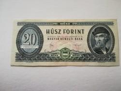 1980-as 20 Forint ALACSONY SORSZÁM !