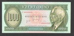 """1000 forint 1996. """"F"""". aUNC!! GYÖNYÖRŰ!!   RITKA!!"""