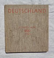 1936 Berlin olimpia képes könyv