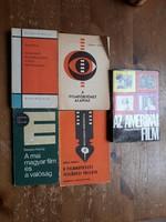 Filmmúvészeti szakkönyvek (5 db), aki igazán érdeklődik a filmtörténet iránt!