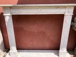 Klasszicista kandalló(márvány)