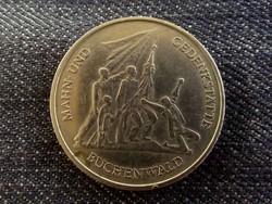 Buchenwaldi koncentrációs tábor emlék 10 Márka 1972 D/id 8341/