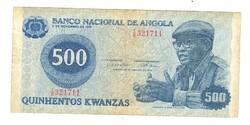 500 kwanzas 1979 Angola