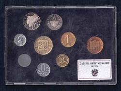 Ausztria - Proof forgalmi sor 1981 (id8167)