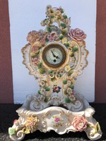 Rokokó porcelán óra