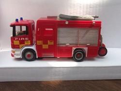 Tűzoltó autó 1:87 modell új, dobozában