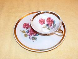 Bavaria rózsás csésze és tányér