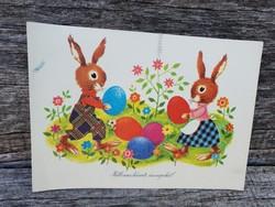 Régi húsvéti képeslap 1982