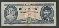 20 forint 1949.  VF+++!!  NAGYON SZÉP!!