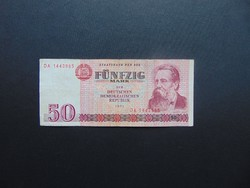 50 márka 1971 DDR