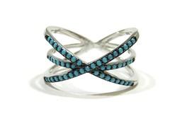 Ezüst köves gyűrű(Kecs-Ag77998)