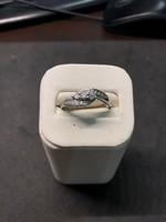 Platina briliáns gyűrű