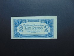 VH. 2 pengő 1944 02 Nagyon szép bankjegy !
