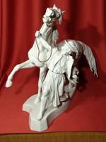 Nagyon, nagyon ritka Herendi Lovas szobor!!!