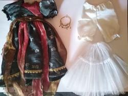 Porcelán babaruha baba ruha garnitúra nagyméretű babára