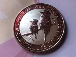 1999 Ausztrál kookaburra 62,2 gramm 0,999 Ritka