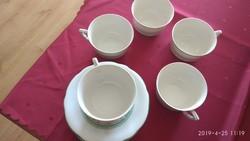Antik Zsolnay teás készlet (Hiányos)