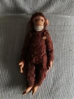 Antik Hermann Teddy játék majom