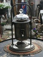 Antik bécsi spirituszus kávéfőző, eredeti tartozékokkal