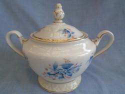 Rosenthal  porcelán fedeles cukortartó jelzett nagyobb méretű