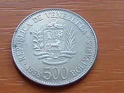 VENEZUELA 500 BOLIVARES 1998 #