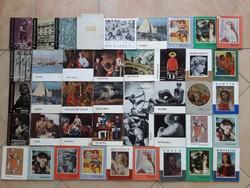 42 db művészeti könyv egyben