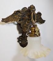 Pazar sas figurális bronz falikar