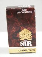 4711 kanadai cédrus SIR mini parfüm