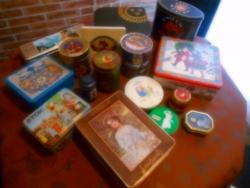Nyári Akció!Gyönyörű Fém Dobozok Egyben!+ Ajándék 1 Doboz TWINTNGS Tea Originált Csomagolásban!!