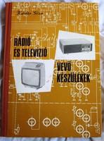 Kádár Géza:Rádió- És Televízió Vevőkészülékek 1972-1975. 1976 kiadás, 277 old