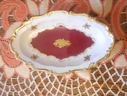 Reichenbach porcelán tál