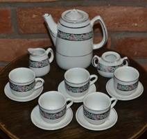 Babakonyhába való antik porcelán teázó készlet