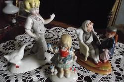 Német figurális porcelánok.