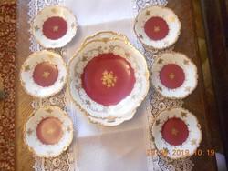 Reichenbach süteményes készlet 6 sz.