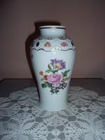 Wallendorf virágmintás váza