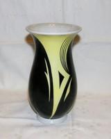 Modern Német porcelán váza jelzett
