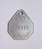 1942 Ebvédjegy, bárca