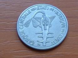 NYUGAT AFRIKA 100 FRANK FRANCS 2012