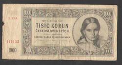 1000 korona 1945.  SZÉP!!  RITKA!!