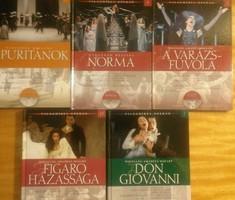 Világhíres operák darabjai CD+könyv