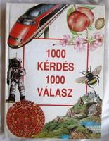1000 Kérdés 1000 Válasz, 1993, 191 oldal.