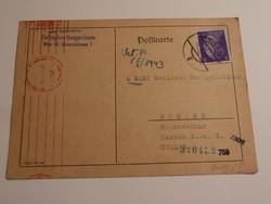 III. Birodalom Bécs futott levelezőlap