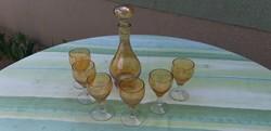 Likőrös pohár készlet