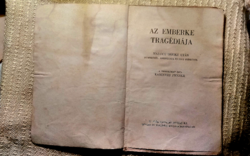 Karinthy Fricike : Az emberke tragédiája 1946 - os kiadás .