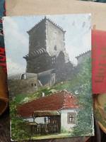 Nagyon régi kép Vár és parasztház