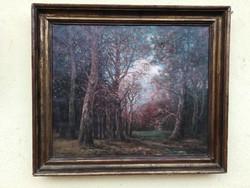 Erdőrészlet (Dunay János)