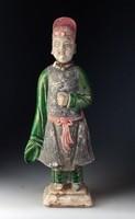 Antik kínai szobor! Ming-dinasztia (1368-1644). Garantáltan eredeti!