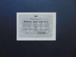 30 krajcár 1849 Kossuth bankó Szép bankjegy !!!  03