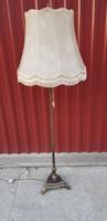 Patinás antik állólámpa...170 cm magas