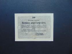 30 krajcár 1849 Kossuth bankó Szép bankjegy !!!  02